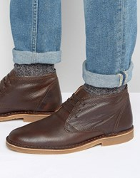 Selected Homme New Royce Leather Warm Boots Brown