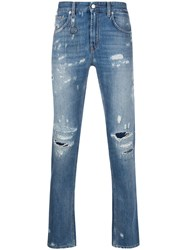 Department 5 Distressed Skinny Fit Jeans 60