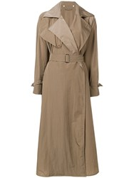 Max Mara Belted Trench Coat Neutrals