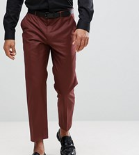 Heart And Dagger Tapered Cropped Trouser Brown