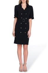 Tahari Collared Sheath Dress
