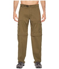 Prana Stretch Zion Convertible Pant Cargo Green Casual Pants
