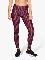 Under Armour Fly Fast Print Running Tights Pink