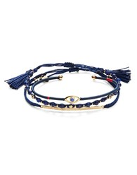 Tai 3 Piece Bracelet Set Navy
