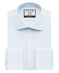 Thomas Pink Arthur Twill French Cuff Dress Shirt Bloomingdale's Regular Fit Pale Blue