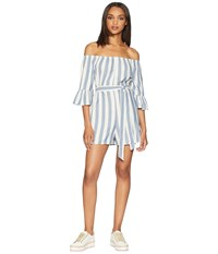 Billabong Fun For Now Romper Bright Indigo Jumpsuit And Rompers One Piece Navy