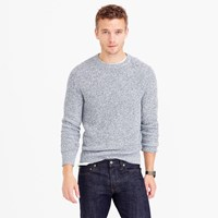 J.Crew Marled Cotton Crewneck Sweater