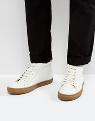 Kg By Kurt Geiger Hi Trainers White