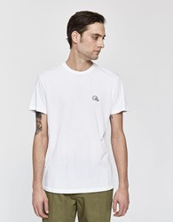 Obey S S Old Script Tee White