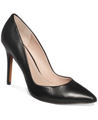 Charles By Charles David Pact Leather Pumps Women's Shoes Black Leather