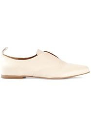 Chloe Chloe Pointed Toe Loafers Nude And Neutrals