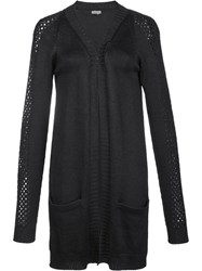 Maiyet 'Lattice Stitch' Cardigan Black