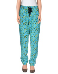 Markus Lupfer Casual Pants Azure