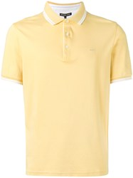Michael Kors Classic Polo Shirt Yellow Orange
