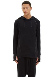 Y 3 Hooded Zip Sweater Black