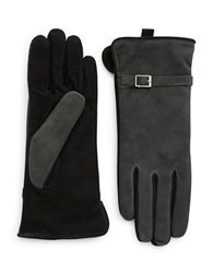 Grandoe Suede Touch Gloves Charcoal Grey