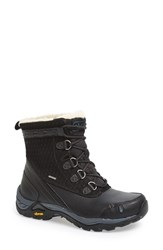 Women's Ahnu 'Twain Harte' Insulated Waterproof Boot Black