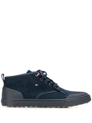 Tommy Hilfiger High Top Sneakers Blue