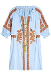 Nina Kaufmann Embroidered Tunic With Cotton