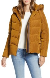 Marc New York Active Puffer Jacket Umber