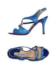 Luciano Padovan Sandals Blue