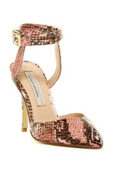 Kristin Cavallari By Chinese Laundry Cyprus Ankle Strap Pump Pink