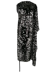 Maison Martin Margiela Mm6 Sequin Embellished Dress Black