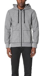 Reigning Champ Full Zip Hoodie E. Charcoal