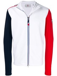 Rossignol Colour Block Zip Jacket White