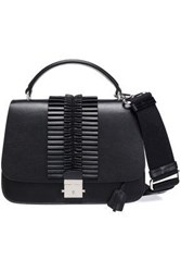 Michael Kors Collection Woman Pleated Leather Tote Black