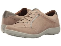 Aravon Bromly Oxford Tan Women's Lace Up Casual Shoes