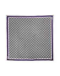 Dirk Bikkembergs Square Scarves Purple