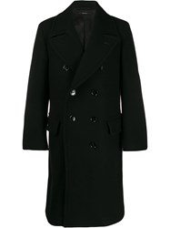 Tom Ford Double Breasted Tailored Coat Black