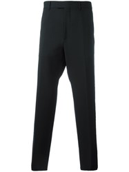 Gucci Straight Leg Evening Trousers Black