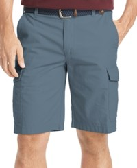 Izod Men's Ripstop Cargo Shorts Copen Blue