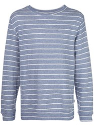 Onia Owen Herringbone Stripe Sweatshirt 60
