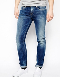 Pepe Jeans Hatch Slim Tapered Fit Mid Wash Blue