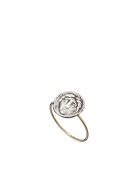 Laura Lee Jewellery Laura Lee Face Coin Ring Antiquedsilver