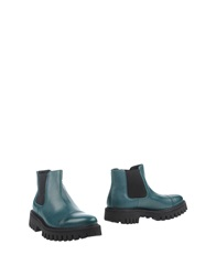 Bruno Bordese Ankle Boots Emerald Green