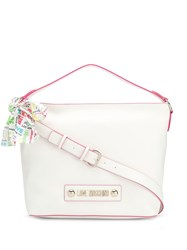 Love Moschino Slouchy Tote White