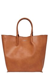 Urban Originals Butterfly Faux Leather Tote Brown Tan
