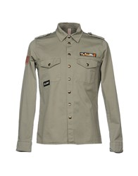 X Cape Shirts Military Green