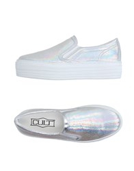Cult Footwear Low Tops And Trainers Women Silver