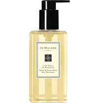 Jo Malone Lime Basil And Mandarin Body And Hand Wash 250Ml Colorless