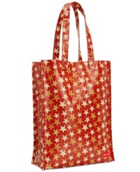Macy's Coated Canvas Medium Tote Created For Red