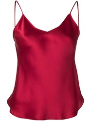 Mes Demoiselles Slip Vest Top Red