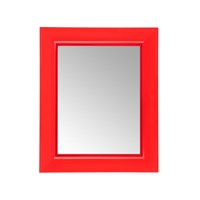 Kartell Francois Ghost Mirror Red Small