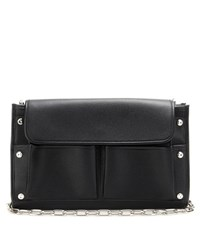 Balenciaga Tool Clutch Leather Shoulder Bag Black
