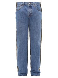 Bless No 65 Reconstructed Vintage Jeans Blue