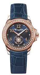 Thomas Sabo Glam And Soul Blue Watch With Zirconia